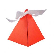 Red Pyramid Designer Favour Boxes